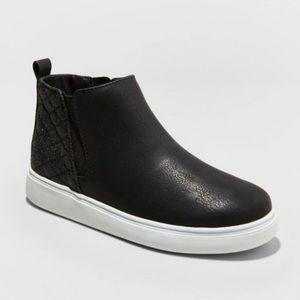 Karidee Shimmer Sneakers Black Cat & Jack SIZE 5